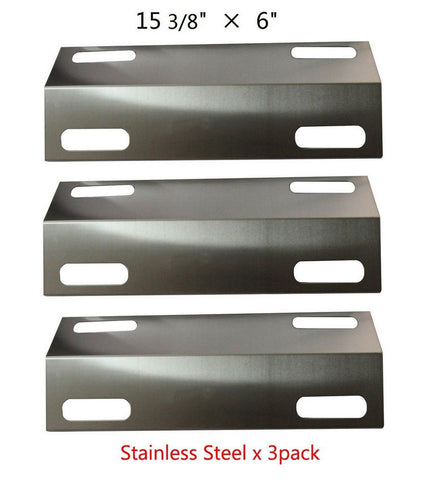 99351(3-pack) Stainless Steel Heat Plate Replacement for Select Ducane Gas Gr... - Chickadee Solutions