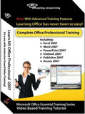Microsoft Office 2007 Excel Word PowerPoint Outlook Publisher Access & Accoun... - Chickadee Solutions - 1