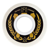 """Gold Standard"" Aggressive Skate Wheel (Set of 4) White - Chickadee Solutions - 1"