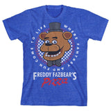 Five Nights At Freddy's Pizza Boys Youth T-shirt Licensed Small - Chickadee Solutions