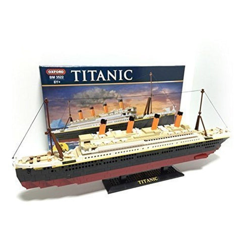 Oxford Titanic Building Block Kit Special Edition Assembly Blocks BM 8522 - Chickadee Solutions - 1