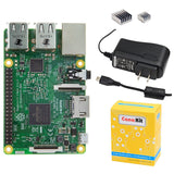 CanaKit Raspberry Pi 3 with 2.5A Micro USB Power Supply (UL Listed) - Chickadee Solutions - 1