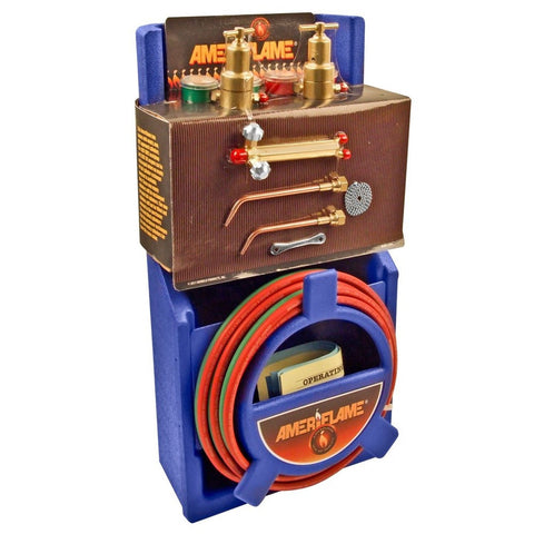 Ameriflame T100 Medium Duty Portable Welding/Brazing Outfit with Plastic Carr... - Chickadee Solutions - 1