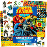 DC Comics Justice League Stickers ~ 295 Reward Stickers - Chickadee Solutions