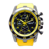 Mokingtop Luxury Sport Analog Quartz Modern Men's Fashion Wrist Watches Yellow - Chickadee Solutions - 1