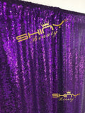 PHOTO BOOTH BACKDROP Best Choice 4FT*6FT NEW Purple Sequin Photobooth Backdro... - Chickadee Solutions - 1