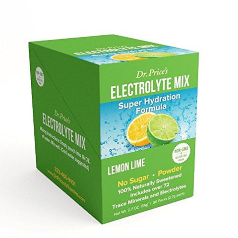 Electrolyte Mix: Super Hydration Formula + Trace Minerals | Lemon-Lime Flavor... - Chickadee Solutions - 1