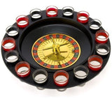 Shot Glass Roulette - Drinking Game Set (2 Balls and 16 Glasses) 16PCS Set - Chickadee Solutions