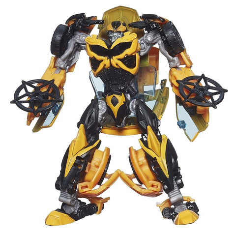 Transformers Age of Extinction Generations Deluxe Class Bumblebee Figure - Chickadee Solutions - 1