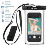 Voxkin PREMIUM QUALITY Universal Waterproof Case including ARMBAND LANYAR... - Chickadee Solutions - 1