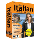 (2011 Version) Instant Immersion Italian Levels 1 2 & 3 - Chickadee Solutions