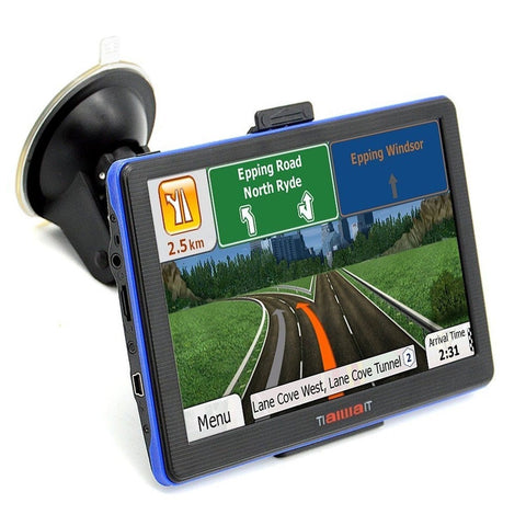 2016 Portable Car GPS Navigation System Units 7-Inch Capacitive screen 8GB Wi... - Chickadee Solutions - 1