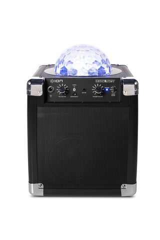 ION House Party Portable Sound System with Built-In Light Show (Black) - Chickadee Solutions - 1