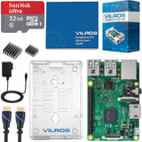 Vilros Raspberry Pi 3 Complete Starter Kit with Clear Case and 32GB SD Card - Chickadee Solutions - 1