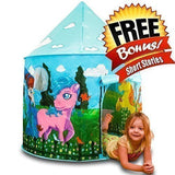 ToysOpoly Blue Princess Castle Playhouse with My Little Pony and Glow In The ... - Chickadee Solutions - 1