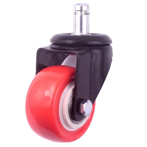 8T8 Office Chair Caster Wheel Diameter 50mm for Any Hardwood Floor Cast Iron ... - Chickadee Solutions - 1