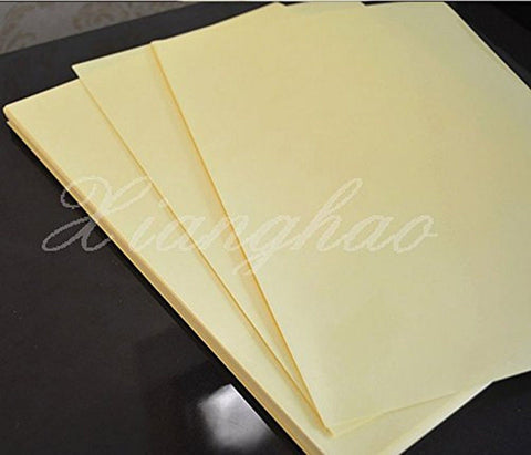 45pcs A4 Clear Transparent Film Adhesive Sticker Paper for Laser Printer - Chickadee Solutions - 1