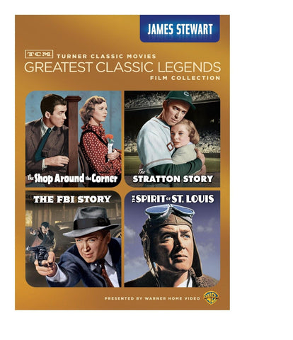 TCM Greatest Classic Legends: James Stewart (The Shop Around the Corner / The... - Chickadee Solutions - 1