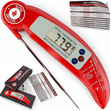 Alpha Grillers Instant Read Meat Thermometer. Ultra Fast Digital Cooking Tool... - Chickadee Solutions - 1