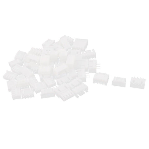 60pcs White XH2.54-4P Connectors 2.54mm Female Pin Header + Housing - Chickadee Solutions