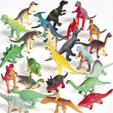Vinyl Mini Dinosaurs (72 count) 1 - Chickadee Solutions