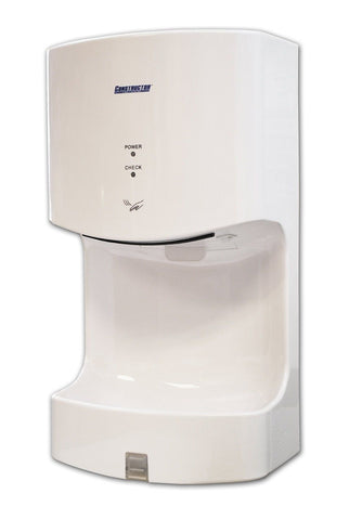 1300 Watts High Speed Automatic Hand Dryer Plastic Durable Infared (White) - Chickadee Solutions