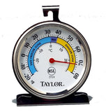 Taylor Precision Products Classic Series Large Dial Thermometer (Freezer/Refr... - Chickadee Solutions - 1