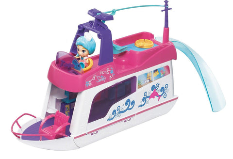 VTech Flipsies Sandy's House and Ocean Cruiser Doll House Standard Packaging - Chickadee Solutions - 1