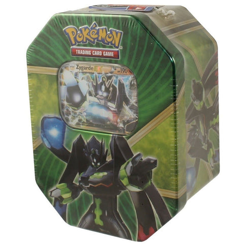 Pokemon Shiny Kalos Tin Zygarde EX - Chickadee Solutions
