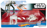 Hot Wheels Star Wars Starship 2-Pack Snowspeeder (Orange) vs. AT-AT - Chickadee Solutions - 1