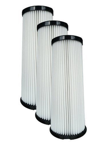 (3) Dirt Devil F1 Bagless Upright Vision Pleated HEPA filter Breeze Featherli... - Chickadee Solutions - 1