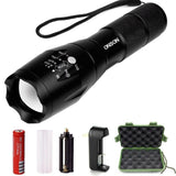 ONSON LED Flashlight1000 Lumen Zoomable and Waterproof LED Outdoor Handheld F... - Chickadee Solutions - 1