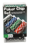100 Ct. Poker Chips Set 11.5 gram (styles will vary) - Chickadee Solutions - 1