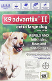 K9 Advantix II Flea and Tick Control Treatment for Dogs 6-Month Over 55 Pound - Chickadee Solutions - 1