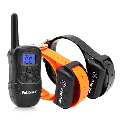 Petrainer IS-PET998DB2 330 yd Remote Dog Training E-Collar 7.67 by 1.96 by 5.... - Chickadee Solutions - 1