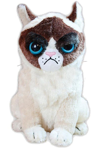 Grumpy Cat Stuffed Plush Doll - Chickadee Solutions