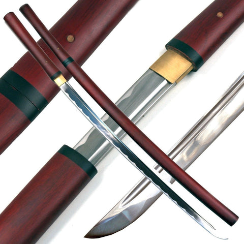 Ace Martial Arts Supply Handmade Japanese Shirasaya Samurai Katana Sharp Sword - Chickadee Solutions - 1