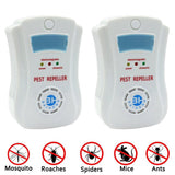 2PCS Ultrasonic Pest Control [with Night Light] for Rodents Mice Rats Insects... - Chickadee Solutions - 1