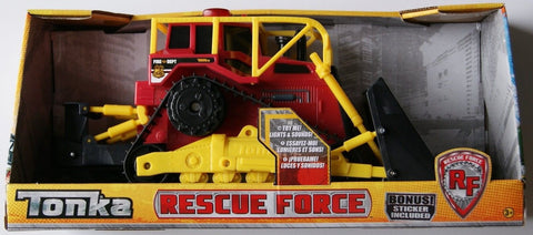 Tonka Rescue Force Fire Department Tractor - Chickadee Solutions