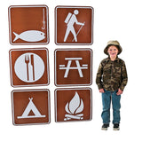 Camp Sign Cutouts - Chickadee Solutions