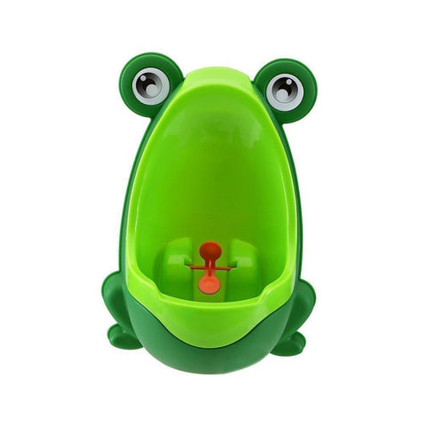 Vktech Cute Frog Potty Training Urinal for Boys Green Frog G - Chickadee Solutions - 1