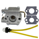 HIPA 753-04333 Carburetor with Primer Bulb for MTD Troy-Bilt 120R 121R 320BVR... - Chickadee Solutions - 1