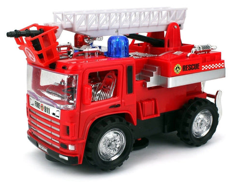 VT Mini Pumper Fire Rescue Battery Operated Bump and Go Toy Truck w/ Flashing... - Chickadee Solutions - 1