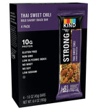 STRONG & KIND Protein Bars Thai Sweet Chili Bar 1.6 Ounce 4 Count - Chickadee Solutions - 1