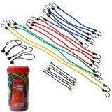 Cartman Bungee Cords Assortment Jar 24 Piece in Jar 24pk - Chickadee Solutions