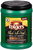 Folgers Black Silk Decaf Coffee 10.3 Ounce - Chickadee Solutions - 1