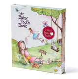 Baby Tooth Album - Tooth Fairy Land Collection - Girl Pink Baby Tooth Album - Chickadee Solutions - 1