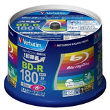 50 Verbatim Blu Ray 25 Gb Bd-r Single Layer 6x Speed Original Spindle Printab... - Chickadee Solutions - 1