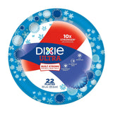 Dixie Ultra Disposable Paper Plates 10 1/16 Inch 22 Count (Pack of 4) - Chickadee Solutions - 1