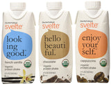 CalNaturale Svelte Organic Protein Shake Variety Pack 11 Ounce (Pack of 12) - Chickadee Solutions - 1